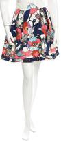 Mary Katrantzou Floral Print Mini Skirt