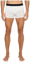 Dolce & Gabbana Stripes and Little Flowers Print Regular Boxer Men's Underwear