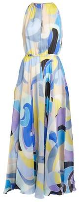 Emilio Pucci Geometric Print Maxi Dress