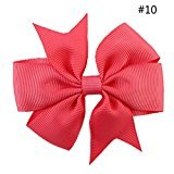 Creazy Ribbon Boutique With Clip Hairpins Kids Girl Hair Accessorie (J)