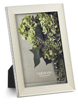 "Vera Wang Wedgwood Wedgwood With Love Nouveau Pearl Frame 4""x6"