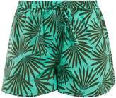 Diane von Furstenberg Elasticated-waist stretch-cotton shorts