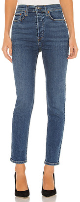 RE/DONE Ultra High Rise Ankle Crop. - size 27 (also