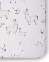 Thumbnail for your product : Oilo Studio Llama Jersey Crib Sheet