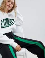 Daisy Street Relaxed Joggers With Front Stripe