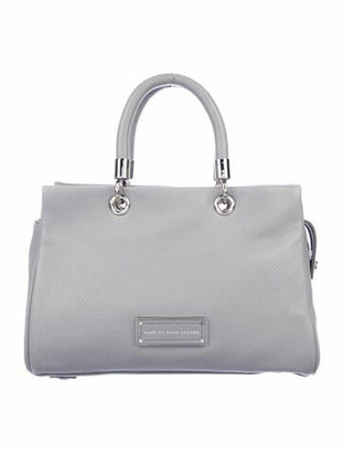 Marc by Marc Jacobs Too Hot To Handle Leather Bag Grey