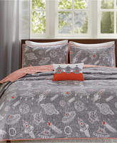 Ink+ivy INK+IVY Kids Orbit Reversible 3-Pc. Quilted Twin Coverlet Set
