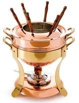 Williams-Sonoma Williams Sonoma Mauviel Copper Fondue Pot with Stand