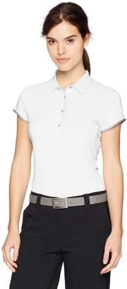 Cutter & Buck Annika By ANNIKA by Women's Moisture Wicking UPF 50+ Cap Sleeve Competitor Polo Shirt