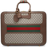 Gucci GG Supreme suitcase with Web