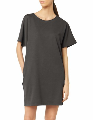 Meraki Women's Loose Fit Short Sleeve Shift Dress with Pockets