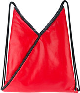 MM6 MAISON MARGIELA geometric backpack - women - Polyester/Polyurethane/Viscose - One Size