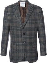 Kiton plaid blazer - men - Cupro/Cashmere - 50