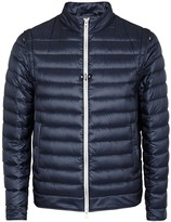 Herno Navy Quilted Chillproof Shell Jacket