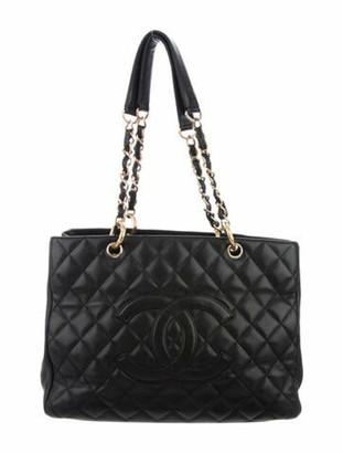 Chanel Grand Shopping Tote Black