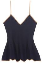 Roksanda Krasner Knitted Wool-blend Top