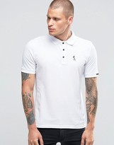 Religion Short Sleeve Pique Polo
