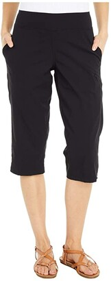 Mountain Hardwear Dynama/2 Capris (Black) Women's Clothing