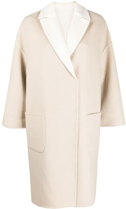 Brunello Cucinelli Double-Face Oversized Coat
