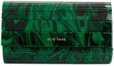 Elie Saab printed clutch bag
