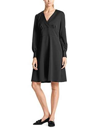 Marc Cain Additions Women's Kleid Party Dress, (Black 900)