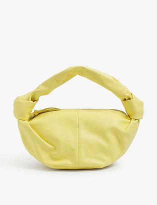 Bottega Veneta Mini leather top-handle bag