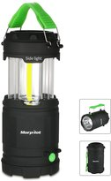 Morpilot Portable Outdoor COB Light Battery Powered with Fluorescent Handles for Hiking, Emergencies, Hurricanes, Outages, Storms
