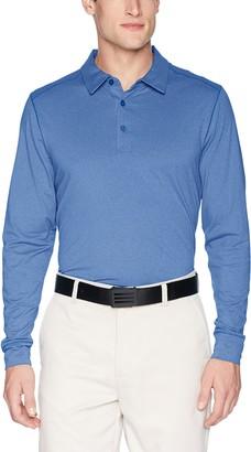 Cutter & Buck Men's Drytec UPF 50+ Jersey Matthew Long Sleeve Polo Shirt
