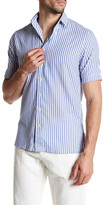 Gant Beach Oxford Short Sleeve Fitted Shirt