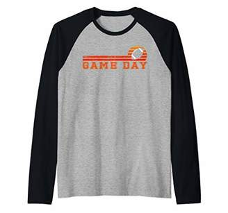 Tailgate Game Day Football Men Women Kids Fan Gift Vintage Raglan Baseball Tee