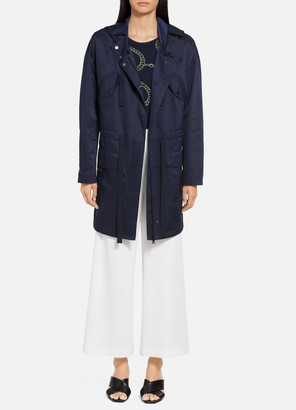 St. John Taffeta Water Resistant Anorak Jacket