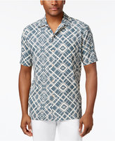Tommy Bahama Men's Dourados Diamonds 100% Silk Shirt
