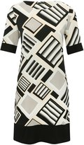 M&Co Geo print tunic dress