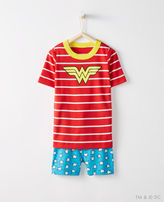 Hanna Andersson Justice League WONDER WOMANTM Short John Pajamas In Organic Cotton