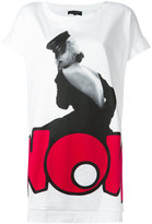 Twin-Set 'now' print T-shirt - women - Cotton/Polyamide - S