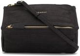Givenchy mini Pandora crocodile-effect crossbody bag