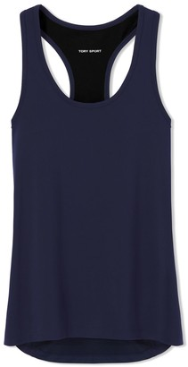 Tory Burch Performance Mesh-Back Tank