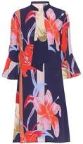 Etro Floral stretch-cotton minidress