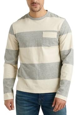 Lucky Brand Men's Bold Stripe Pocket T-Shirt