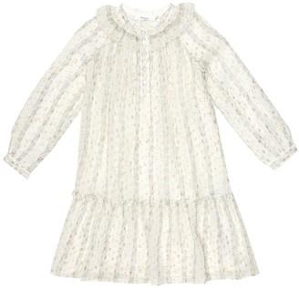 Bonpoint Paradis floral silk-blend dress