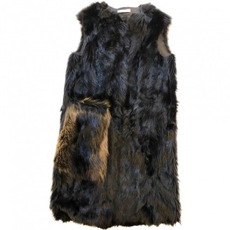 Prada Brown Raccoon Coat for Women