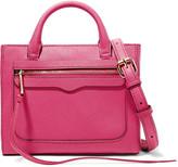 Rebecca Minkoff Avery mini textured-leather shoulder bag