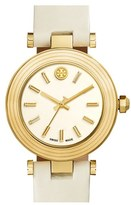 Tory Burch Women's Leather Strap Watch, 35Mm
