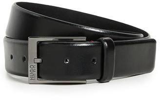 HUGO BOSS Garney Smooth Leather Belt