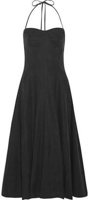 Ulla Johnson Paula Voile Halterneck Dress