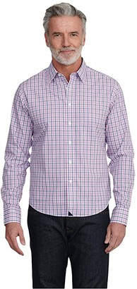 UNTUCKit Dolcetto - Wrinkle Free (Pink) Men's Clothing