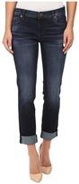 KUT from the Kloth Catherine Five-Pocket Boyfriend Jeans in Adaptability w/ Euro Base Wash Women's Jeans