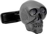 Ravi Ratan Men's Iron Black Skull Cufflinks