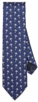 Jack Spade Palm Tree Print Tie