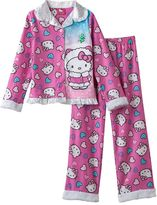 Hello Kitty Fleece Pajama Set - Girls 4-10